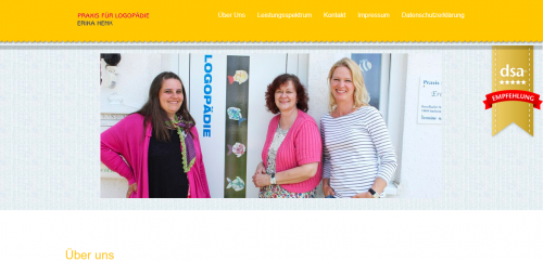 Firmenprofil von: Ihre Praxis für Logopädie in Sinsheim: Hier verbessern Sie Ihre Sprachqualität
