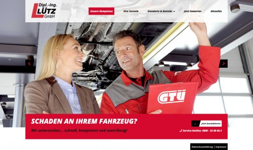 Firmenprofil von: Dipl. Ing. Lütz GmbH – Kfz-Sachverständige Waldbröl