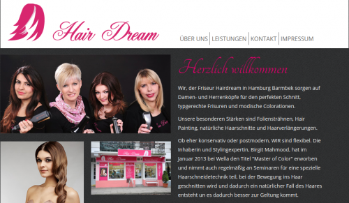 Firmenprofil von: Friseursalon Hair Dream in Hamburg