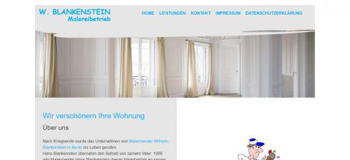 Firmenprofil von: Der Malermeister Ihres Vertrauens: Malereibetrieb W. Blankenstein