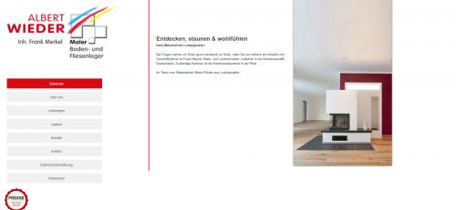 Firmenprofil von: Der richtige Malerbetrieb für Ihre Eigentumswohnung: Malerbetrieb Wieder in Ludwigshafen