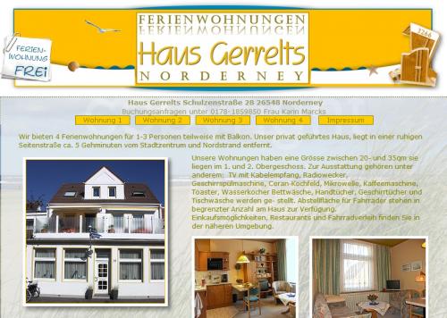 Firmenprofil von: Ferienwohnungen auf Norderney
