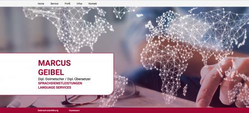 Firmenprofil von: Marcus Geibel Sprachdienstleistungen in Viersen