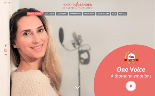 Firmenprofil von: Sprecherin Margit Sander aus Hamburg: stimmliche Unterstützung in Erklärvideos
