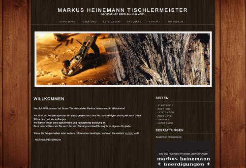 Firmenprofil von: Markus Heinemann, Tischlermeister und Bestattungen in Hildesheim