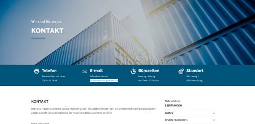 Firmenprofil von: Ihr Umzugsservice in Duisburg: Gombert Logistik und Services GmbH