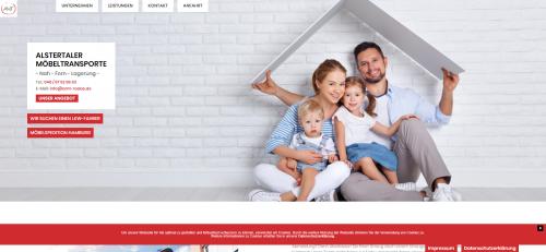 Firmenprofil von: Alstertaler Möbeltransporte: Ihr Ansprechpartner für Umzüge in Alstertal
