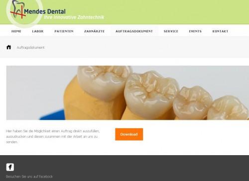 Firmenprofil von: Dentallabor in Wesel: Mendes Dental