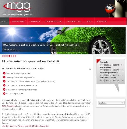 Firmenprofil von: MGG Mobile Garantie Gesellschaft mbH in Köln