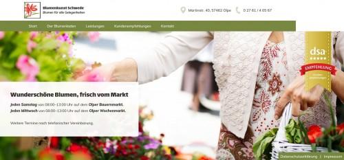 Firmenprofil von: Blumen wie aus dem Märchen: Blumenkunst Barbara Schwede in Olpe