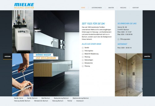 Firmenprofil von: Mielke GmbH Heizung-Sanitär in Bochum