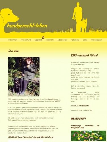 Firmenprofil von: Hundeschule hundgerecht-leben in Lindlar-Hartegasse