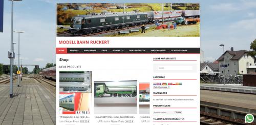 Firmenprofil von: Modellbahn: Eine Welt auf Schienen