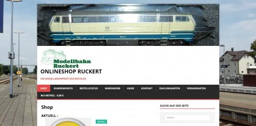 Firmenprofil von: Eisenbahn-Modelle aller Art in Ihrem Onlineshop Ruckert