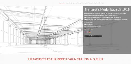 Firmenprofil von: Technischer Modellbau seit 1919: Ehrhardt's Modellbau GmbH