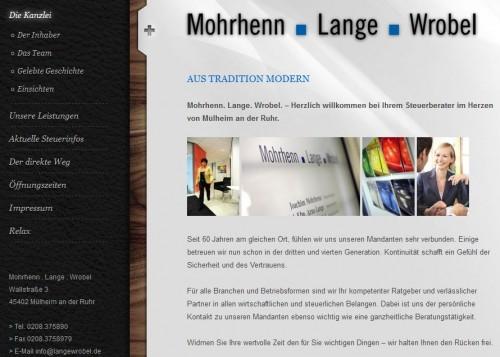 Firmenprofil von: Mohrhenn . Lange . Wrobel in Mülheim: Gehaltsabrechnungen