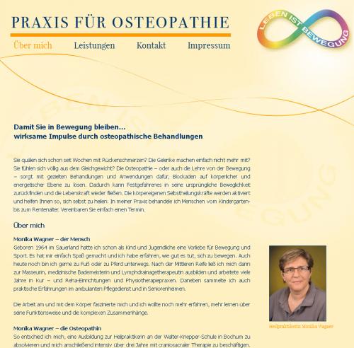Firmenprofil von: Praxis für Osteopathie in Bochum