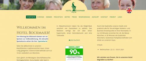 Firmenprofil von: Ihr hochwertiges Monteurzimmer im Hotel Bockmaier in Oberpframmern bei München