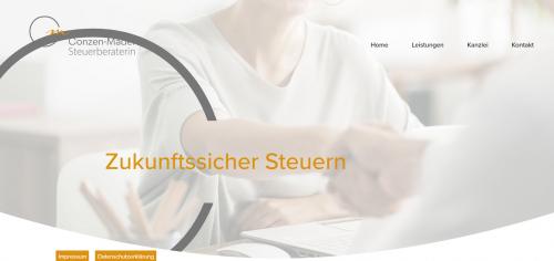 Firmenprofil von: Professionelle Steuerberatung in Mülheim: Steuerberaterin Marion Conzen-Mader