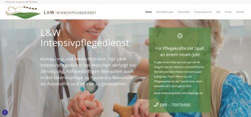 Firmenprofil von: Die Pflege in München: L & W Intensivpflegedienst GmbH