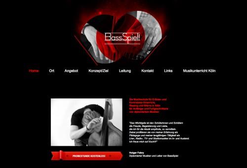 Firmenprofil von: Holger Fabrys Musikschule: BassSpiel in Köln