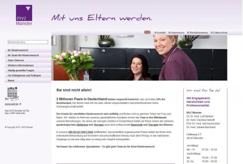 Firmenprofil von: MVZ Kinderwunsch- und Hormonzentrum aus Münster GmbH
