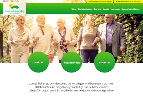 Firmenprofil von: Häusliche Krankenpflege in Geldern: Häusliche Krankenpflege Johanna Naebers