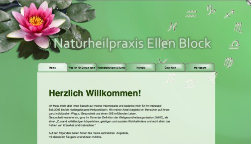 Firmenprofil von: Naturheilpraxis Ellen Block in Königs Wusterhausen