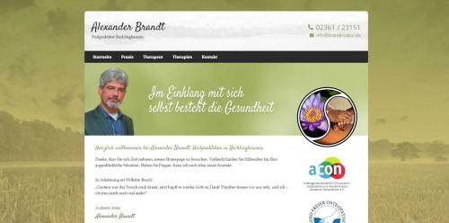 Firmenprofil von: Im Einklang mit sich selbst besteht die Gesundheit – Ihr Heilpraktiker Brandt in Recklinghausen