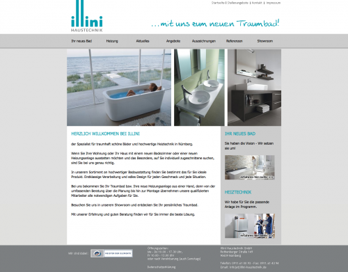 Firmenprofil von: Heizung und Sanitär in guten Händen - Illini Haustechnik GmbH in Nürnberg