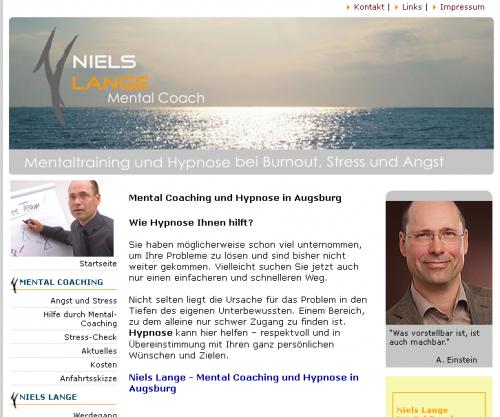 Firmenprofil von: Hypnose in Augsburg Niels Lange