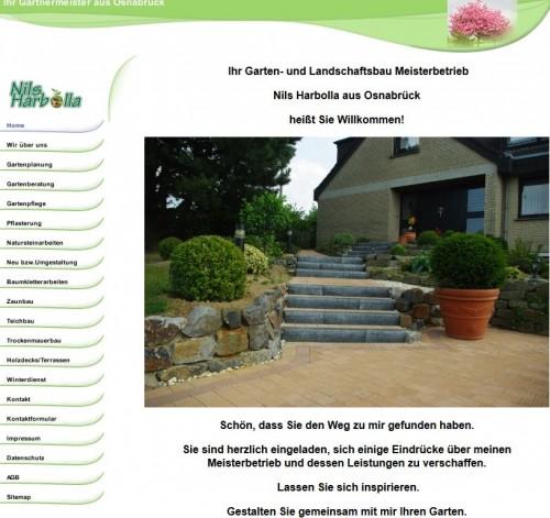 Firmenprofil von: Trockenmauerbau in Osnabrück: Garten- und Landschaftsbau Nils Harbolla