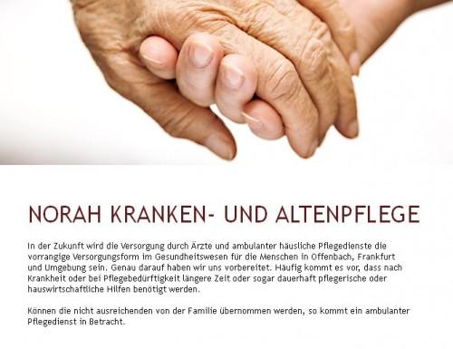 Firmenprofil von: NKA Norah Kranken- und Altenpflege in Offenbach am Main