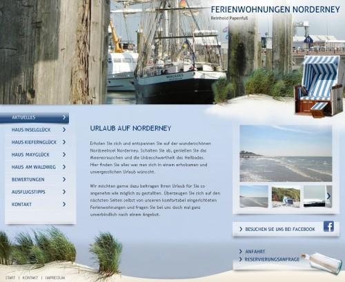 Firmenprofil von: Ferienwohnungen der Papenfuß GmbH auf Norderney