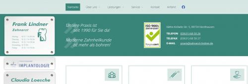 Firmenprofil von: Ihr erfahrener Zahnarzt in Nordhausen – Zahnarztpraxis Lindner