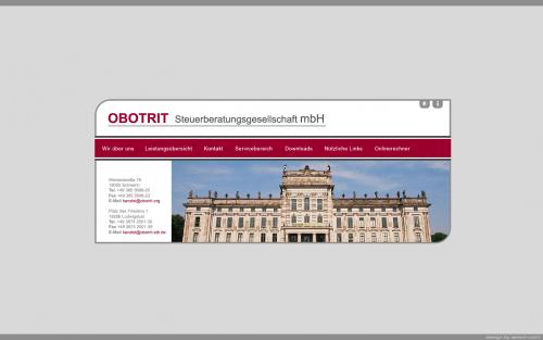 Firmenprofil von: Steuerberatung in Schwerin: OBOTRIT Steuerberatung GmbH