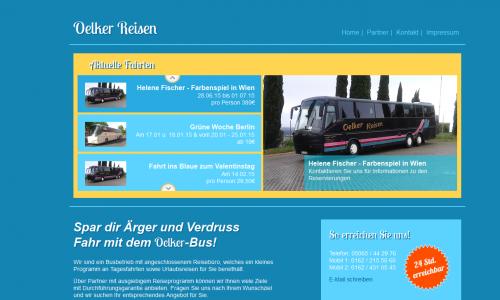 Firmenprofil von: Oelker-Reisen, Busreisen in Sibbesee