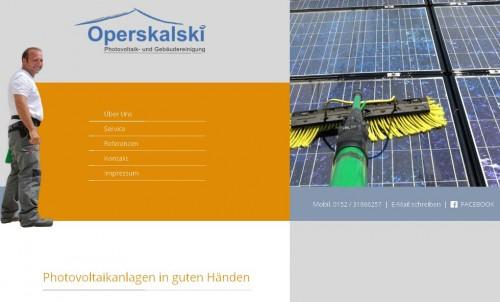 Firmenprofil von: Operskalski Photovoltaik- und Gebäudereinigung in Giebelstadt