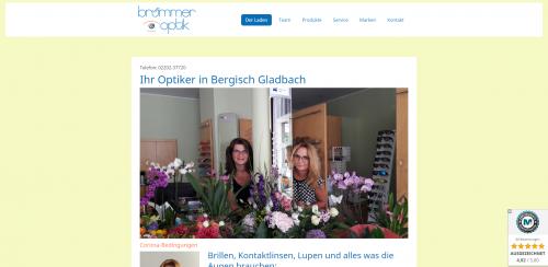 Firmenprofil von: Ihr Partner für Kontaktlinsen: Brümmer Optik in Bergisch Gladbach