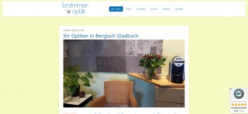 Firmenprofil von: Brümmer Optik: Ihr Experte in Bergisch Gladbach