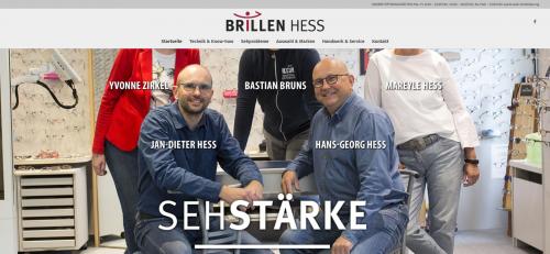 Firmenprofil von: Ihr Partner für eine Sehanalyse in Oldenburg: Brillen Hess