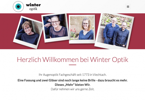 Firmenprofil von: Kontaktlinsen bei Winter Optik in Viechtach