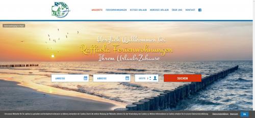 Firmenprofil von: Traumhafte Unterkünfte an der Ostsee: Raffaela Ferienwohnungen