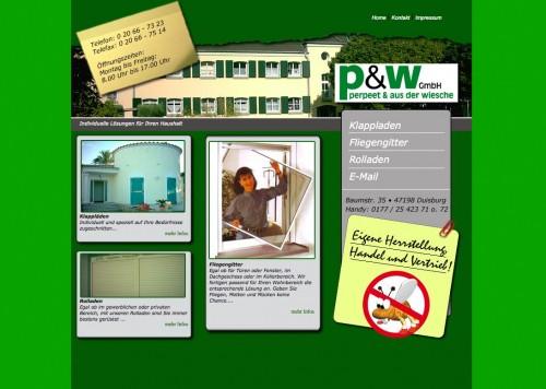 Firmenprofil von: P&W GmbH – Haushaltslösungen in Duisburg