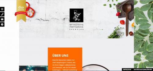 Firmenprofil von: In bester Feierlaune mit dem Mittagstisch & Partyservice in Prenzlau
