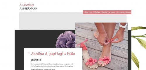 Firmenprofil von: Ihre Expertin in Hann-Münden: Fußpflege Carmen Ammermann