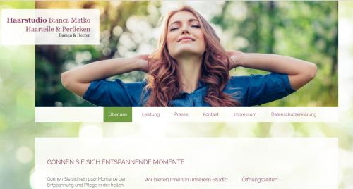 Firmenprofil von: Hochwertige Perücken in Gütersloh – Haarstudio Matko