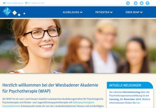 Firmenprofil von: Wiesbadener Akademie für Psychotherapie