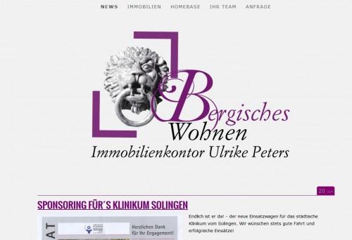 Firmenprofil von: Immobilienkontor Bergisches Wohnen in Solingen