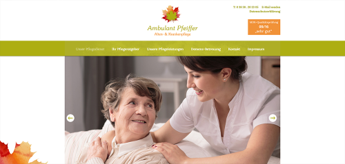 Firmenprofil von: Professionelle Altenpflege in Bergen